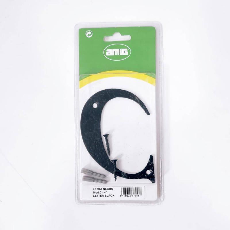 PERNIO IZQUIERDA LATON C/R CON REMATE 80*41*2.3mm