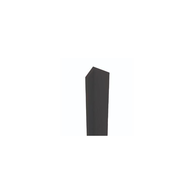 MANILLON CON ROSETA ACERO INOXIDABLE 25mm*400mm
