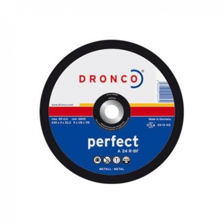 DISCO DE CORTE PARA METAL PERFECT 115*3*22,23