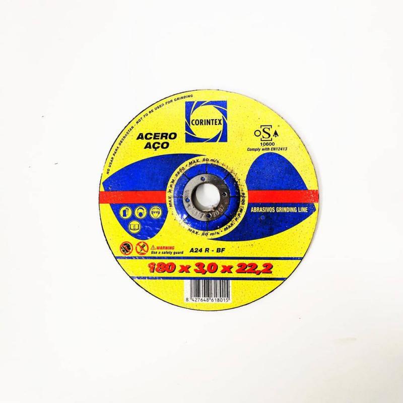 DISCO DE CORTE PARA METAL 180*3*22,2 mm