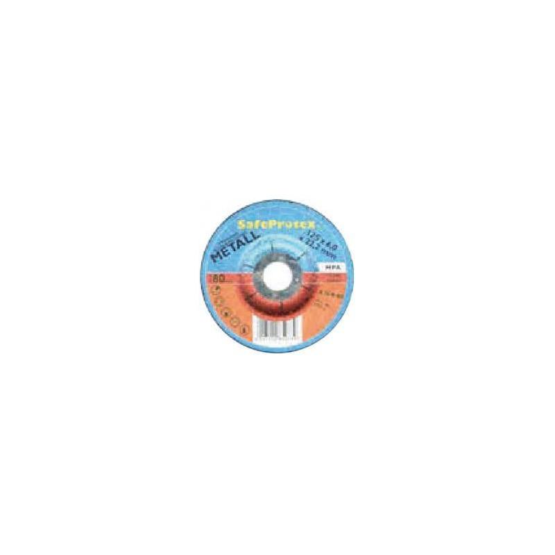 DISCO DE DESBASTE PARA METAL 180*6*22,2