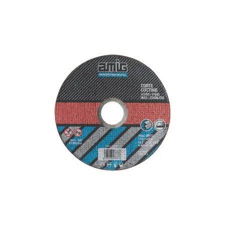 DISCO DE CORTE PARA METALES 115*1*22.2