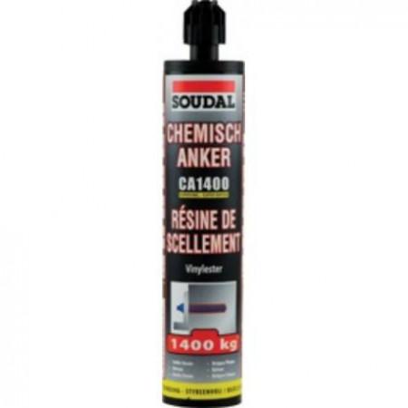 Taco químico vinilester 1400 Soudal