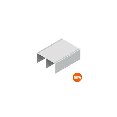 Carril alto Basic Y8-75P Lacado Blanco
