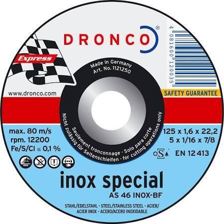 Disco corte Inox Special Express 230*1,9*22.2