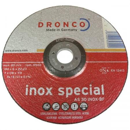 DISCO ACERO INOX SPECIAL 180*6*22,23