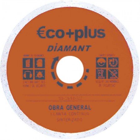 DISCO DE DIAMANTE CONTINUO 180*2*22,2 mm