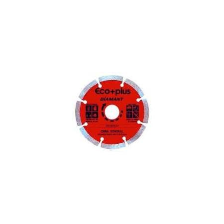 DISCO DE DIAMANTE SEGMENTADO 115*1,8*22,2 mm