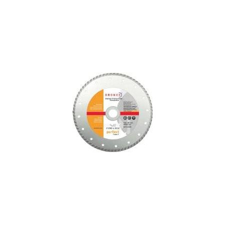 DISCO DE DIAMANTE CORTE CONTINUO TURBO 230*22,23mm