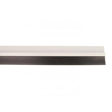 Burlete para puertas de aluminio blanco 5-1000