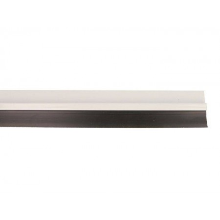 BURLETE 5-1000 ALUMINIO BLANCO PVC
